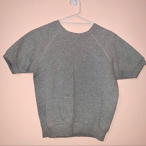Gray Short sleeve sweater ! From UO
